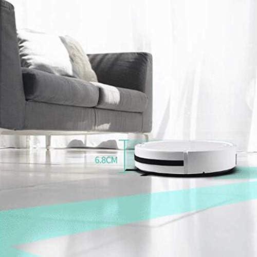 Art Jian Aspirateur Robot, Ultra Strong Robot Silencieux d\'aspiration pour Animaux Cheveux durs Floors Mince Tapis Automatique Intelligent robotique Sweeper