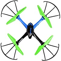 Goodfans JJRC H98-3 New 2.4Ghz 4CH 6-Axis Gyro RC Quadcopter RC Drone with 0.3MP Camera 3D Flip Toy Drone(US STOCK)