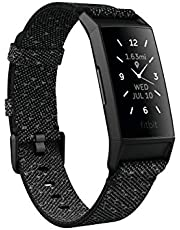 Fitbit Charge 4 Activity Tracker, Black (S &L Bands Included)