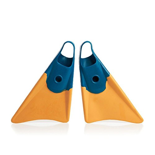 Churchill Makapuu Fins (Blue/Yellow Small). Perfect for catching waves, whether bodyboarding, swimming the surf, travel fins, bodysurfing, casual swimmers or tight space snorkeling ect