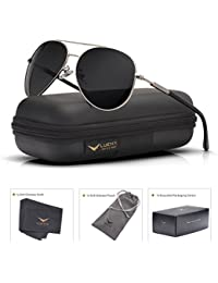Aviator Sunglasses Mens Womens Polarized Mirror - UV 400...