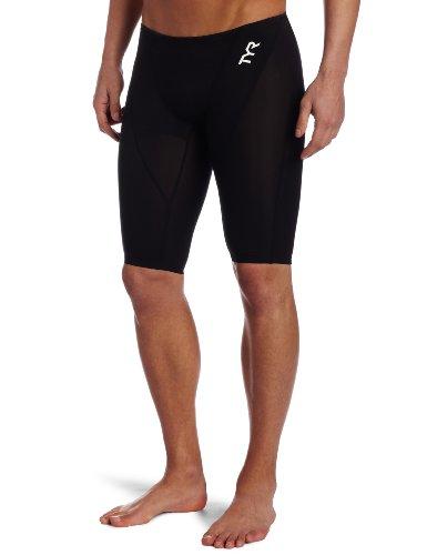 TYR Men's Tracer Light Jammer Swim Suit (Black, 36 -Inch)