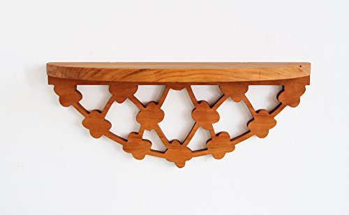 Solid Cherry Floating Shelf, for Spices, Photos, Entryways & More (Bloom) by Jonathan Alden