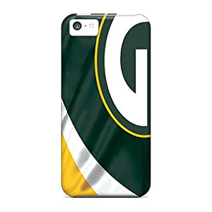 YQn2020XEQZ Drcases Awesome Case Cover Compatible With Iphone 5c - Green Bay Packers
