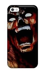 Iphone 5/5s Case Cover - Slim Fit Tpu Protector Shock Absorbent Case (berserk)
