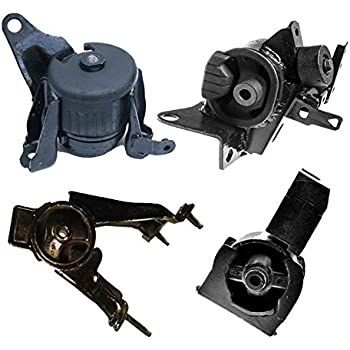 2 Piece Front Engine Transmission Motor Mount Package 2.4L fits 05-10 Scion tC