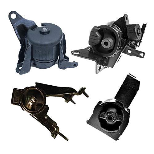 (ONNURI For 2005-2010 Scion TC 2.4L AUTO Motor & Trans Mount Set 4PCS : A62033, A62037HY, A72010, A72012 - K0734)