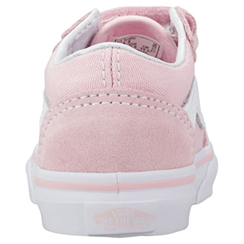 Baskets Skool V Vans Mixte Bébé Old White Pink A17UxwZUq