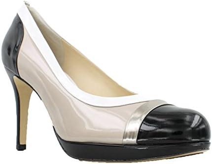 watch 19a9d 3210a Högl Sasha Black/White/Cotton High Heel Pump, 7 UK: Buy ...