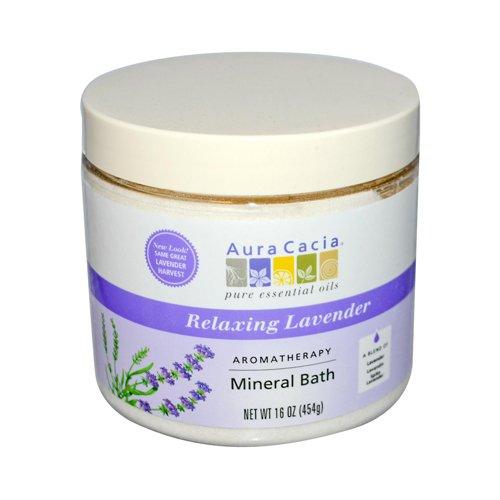 Aura Cacia Aromatherapy Mineral Bath Lavender Harvest - 16 oz Aura Cacia Aromatherapy Mineral Bath
