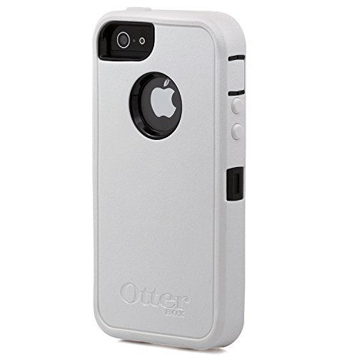 OtterBox Defender Series Case for iPhone 5 - Retail Packaging - White/Black