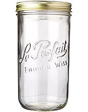 Le Parfait Familia Wiss Terrines Jar, 1.5L, 11cm Diameter (922960)