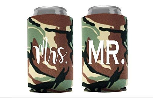 Country Wedding Gifts for the Couple Camo Hunting Wedding