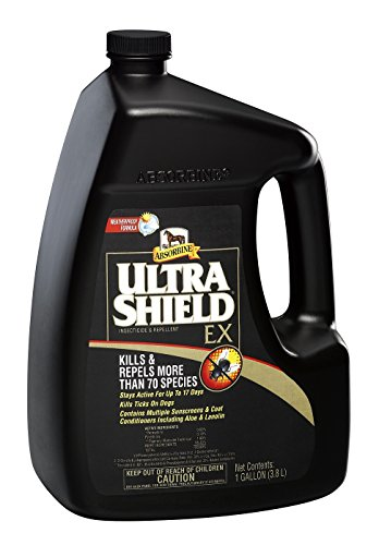 Absorbine 1 Gallon Ultra Shield EX Kills and Repels More Than 70 Species ! Weatherproof -