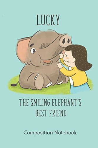 Lucky, the Smiling Elephant's Best Friend Composition -