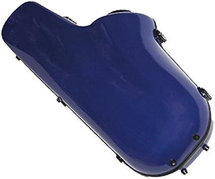 Ortola FAS-01 - Estuche fiber glass saxo alto, color marino: Amazon.es: Instrumentos musicales