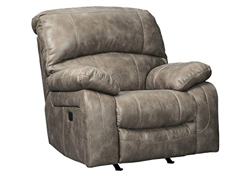 Signature Design by Ashley 5160213 Dunwell Power Recliner, Driftwood Review