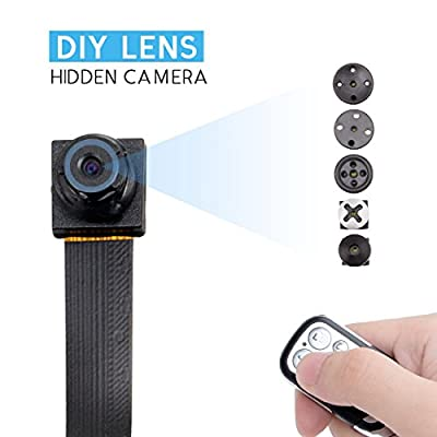 SpyGear-FREDI HD 1080P/720P Mini Super Small Portable DIY Hidden Spy Camera Loop Video Recording Video Recorder Motion Activated Security DVR with a remote controller - Jinbaixun Technology