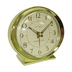 Westclox Alarm Clock Metal Bezel