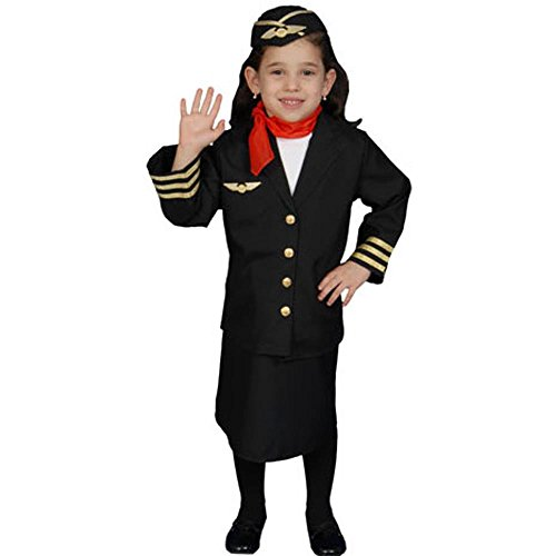 Costumes Accessories Attendant Flight (Toddler Flight Attendant Costume)