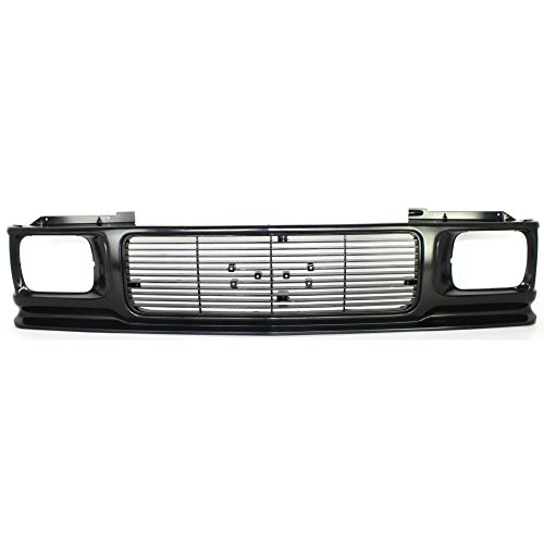 (Grille for GMC Jimmy 92-94 Sonoma 91-93 Textured Black)