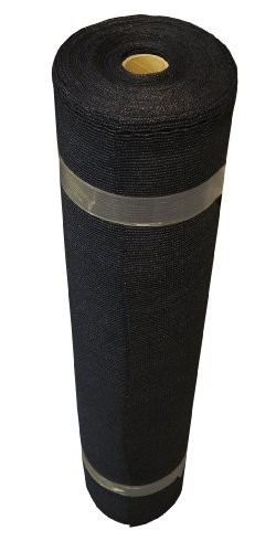 Coolaroo Medium Shade Fabric Roll 12ft by 50ft Black