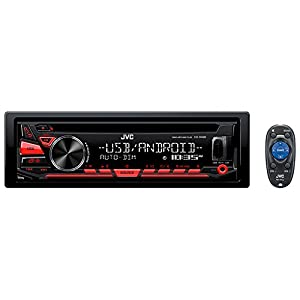JVC KD-R480 CD Receiver featuring USB/AUX Input