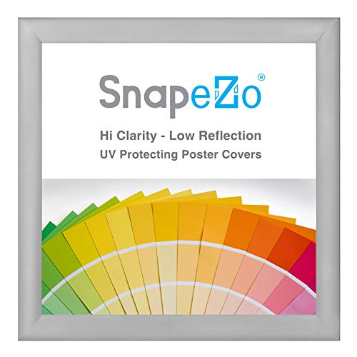 SnapeZo Silver Poster Frame 36x36 Inches, 1.2