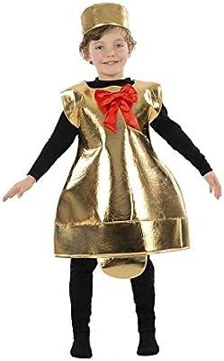 Disfraz de Campana Belén para niños: Amazon.es: Juguetes y juegos