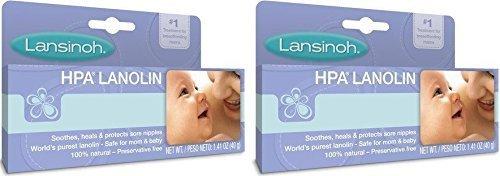 Lansinoh Hpa Lanolin 1.41 Oz (2 Pack) 1.41 Oz (2 Pack) 2