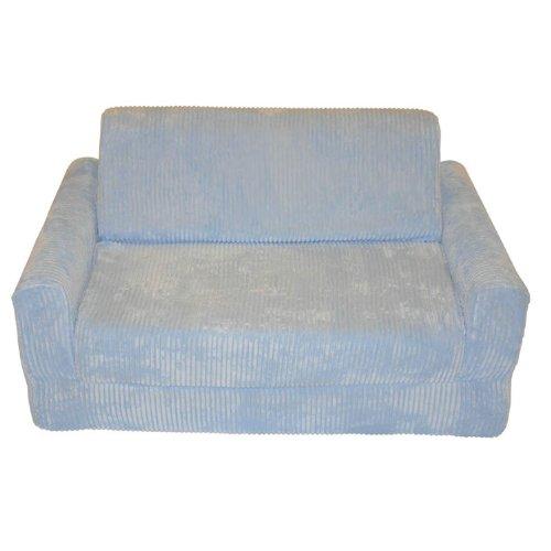 Fun Furnishings 10310 Kid's Sleeper Sofa in Chenille Fabric, Blue by Fun Furnishings