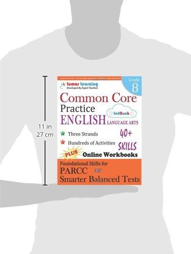 Amazon.com: Common Core Practice - 8th Grade English Language Arts ...