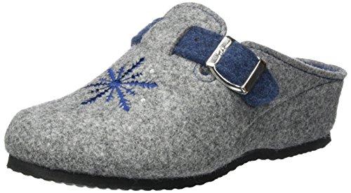 Ara Dames Textiel Pantoffels Grijs