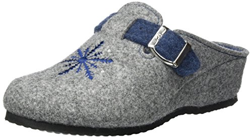 grau jeans Cosy Damesslippers Grau Ara q1FpwF