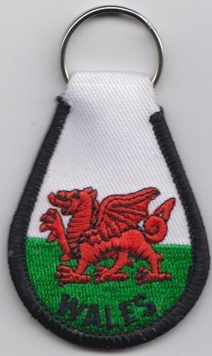 Dragon Galles A241 Tissu Porte Gallois clés UfCqTgw