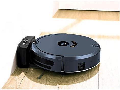 UNU_YAN Balayer Robot haut de gamme téléphone mobile intelligent et Balayer Faire glisser automatiquement Recharge Accueil ultra-mince Aspirateur (noir)