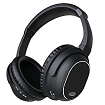 E-sports Active Noise Cancelling Bluetooth Headphones, Wireless Over-ear Stereo Earphones with Microphone and Volume Control
