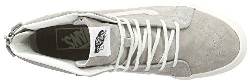 Bestelwagens Sk8 Hi-slim Zip, Unisex-volwassen Hoge Sneakers Beige (croc Reliëf / Hennep / Blanc De Blanc)