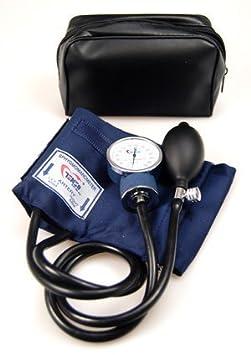 Tensiómetro aneroide profesional Pro CE NHS, de Valuemed, manguito estándar con indicador arterial para adultos, anilla en D: Amazon.es: Jardín