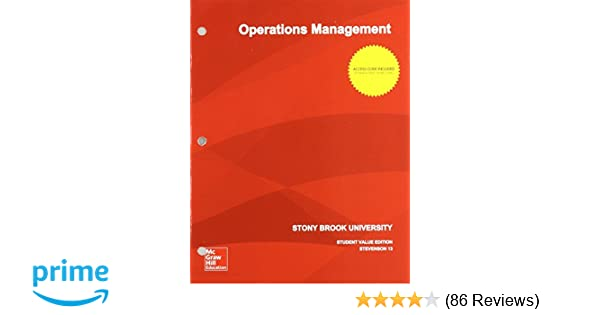 Operations management 13th edition william j stevenson operations management 13th edition william j stevenson 9781308340159 amazon books fandeluxe Image collections