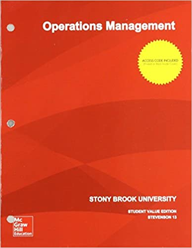 Operations management 13th edition william j stevenson operations management 13th edition william j stevenson 9781308340159 amazon books fandeluxe Images