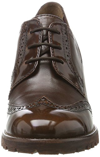 Tamaris Damen 23302 Oxfords Braun (Maroon)