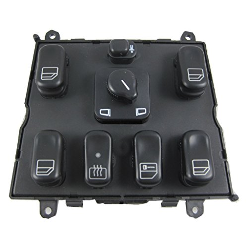 JDMSPEED New Electric Power Window Master Control Switch For 1998-2003 Mercedes Benz ()