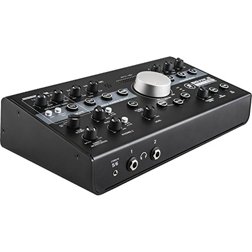 Mackie Big Knob Studio+ Monitor Controller and Interface with 1 Year EverythingMusic Extended Warranty Free from Mackie