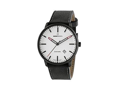 Momo Design Essensial automatisk klocka, ETA 2824, 42,5 mm, 5 atm, MD6004BK-22