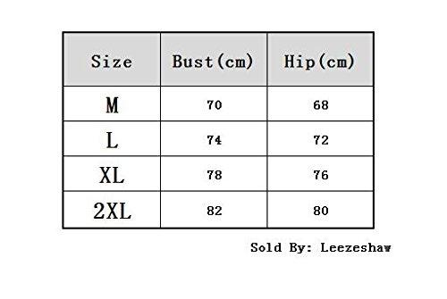 Leezeshaw - Conjunto - para mujer negro