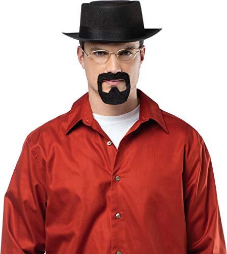 Jesse Pinkman Costume (Rasta Imposta Men's Breaking Bad Heisenberg Kit, Black, One)