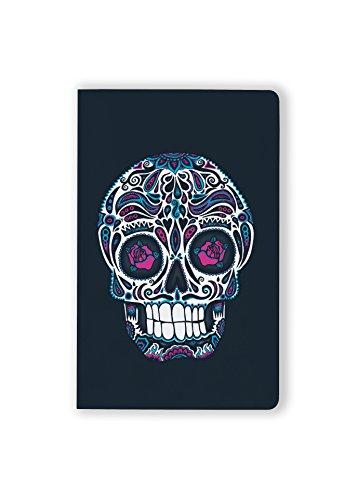 Denik Layflat Notebook, Calavera, 150 pages, 5.25