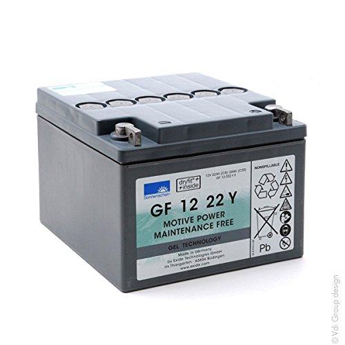 Sonnenschein - Baterí a plomo sellada gel GF12022YF Gel 12V 22Ah G5 GNB Sonnenschein GF-Y