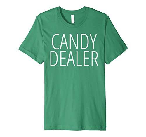 [Mens CANDY DEALER Halloween Funny Joke Costume Fun T-shirt XL Kelly Green] (Joke Halloween Costumes)